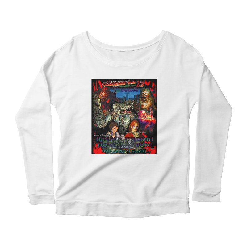 President Evil 23: The Movie Women's Longsleeve Scoopneck  by Monstrous Customs
