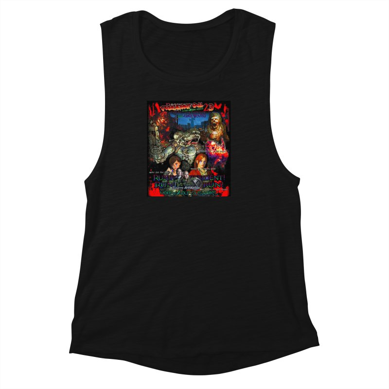 President Evil 23: The Movie Women's Muscle Tank by Monstrous Customs
