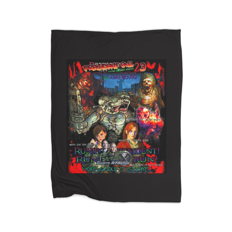 President Evil 23: The Movie Home Blanket by Monstrous Customs