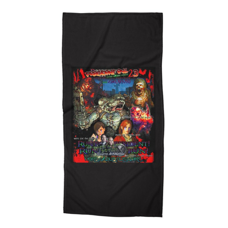 President Evil 23: The Movie Accessories Beach Towel by Monstrous Customs
