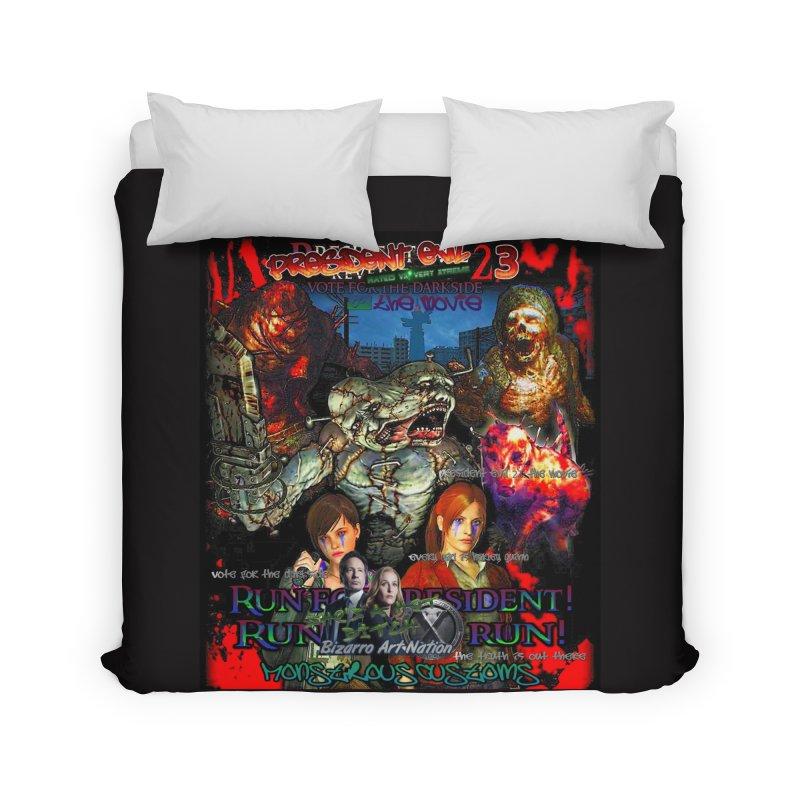 President Evil 23: The Movie Home Duvet by Monstrous Customs