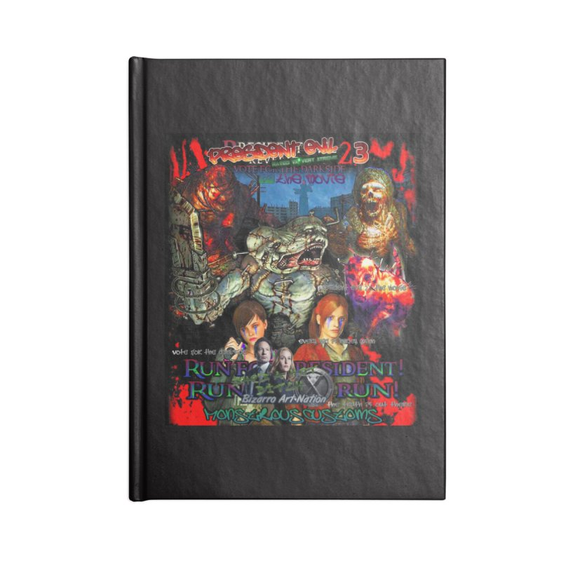 President Evil 23: The Movie Accessories Lined Journal Notebook by Monstrous Customs