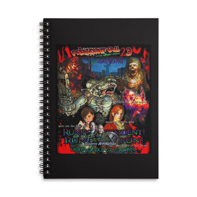 President Evil 23: The Movie Accessories Lined Spiral Notebook by Monstrous Customs