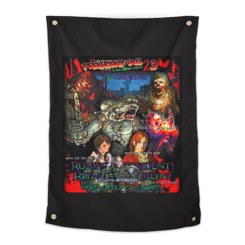 President Evil 23: The Movie Home Tapestry by Monstrous Customs