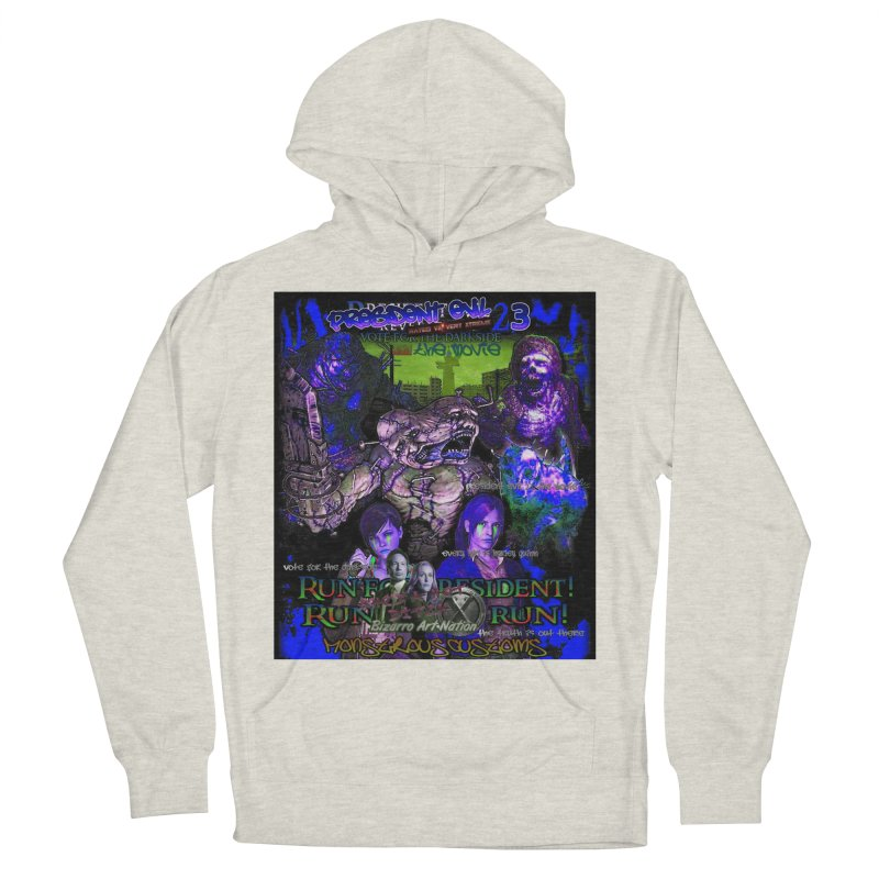 President Evil 23: Dark Night Women's French Terry Pullover Hoody by Monstrous Customs