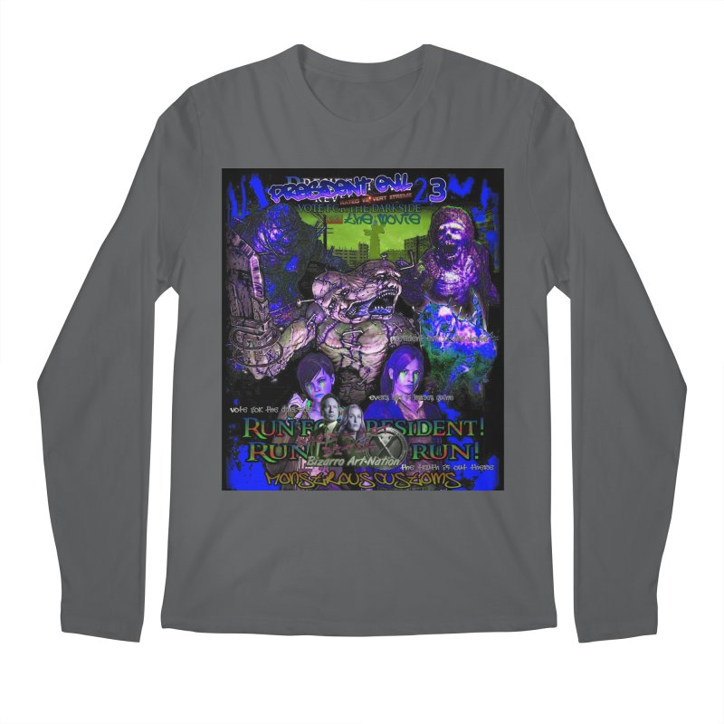 President Evil 23: Dark Night Men's Longsleeve T-Shirt by Monstrous Customs