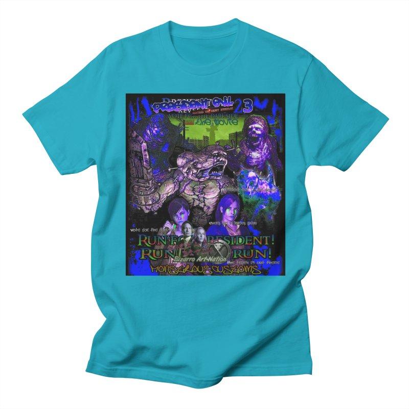President Evil 23: Dark Night Women's Regular Unisex T-Shirt by Monstrous Customs