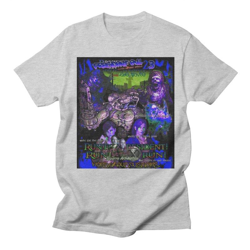 President Evil 23: Dark Night Men's T-Shirt by Monstrous Customs