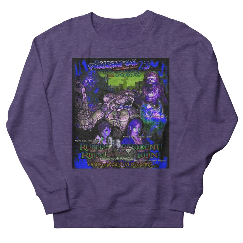 President Evil 23: Dark Night Women's French Terry Sweatshirt by Monstrous Customs
