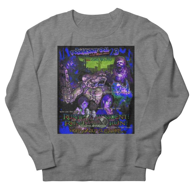 President Evil 23: Dark Night Women's French Terry Sweatshirt by Monstrous Customs
