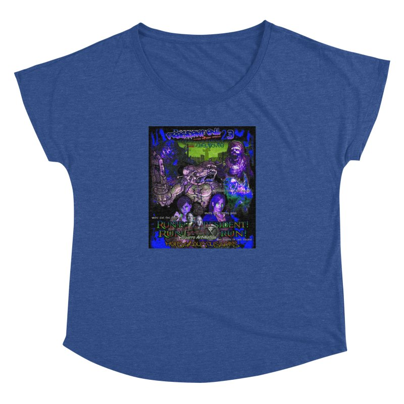 President Evil 23: Dark Night Women's Dolman by Monstrous Customs