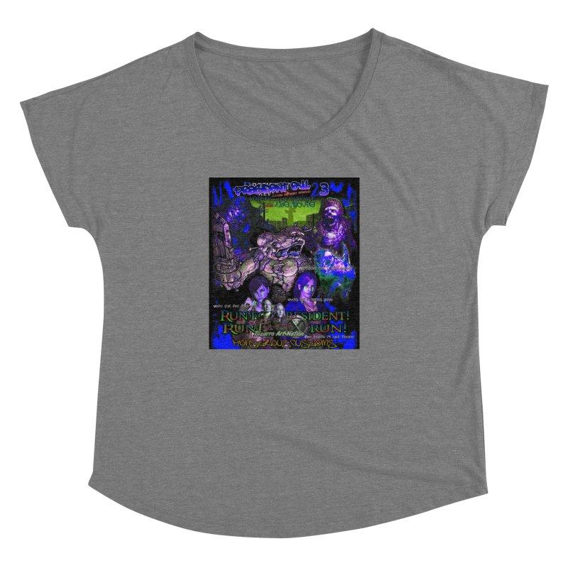 President Evil 23: Dark Night Women's Dolman by Monstrous Customs