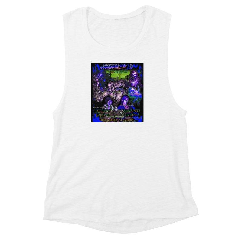 President Evil 23: Dark Night Women's Muscle Tank by Monstrous Customs