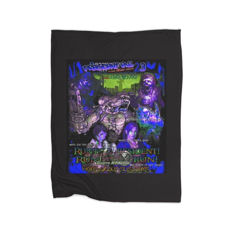 President Evil 23: Dark Night Home Blanket by Monstrous Customs
