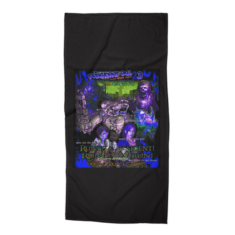 President Evil 23: Dark Night Accessories Beach Towel by Monstrous Customs