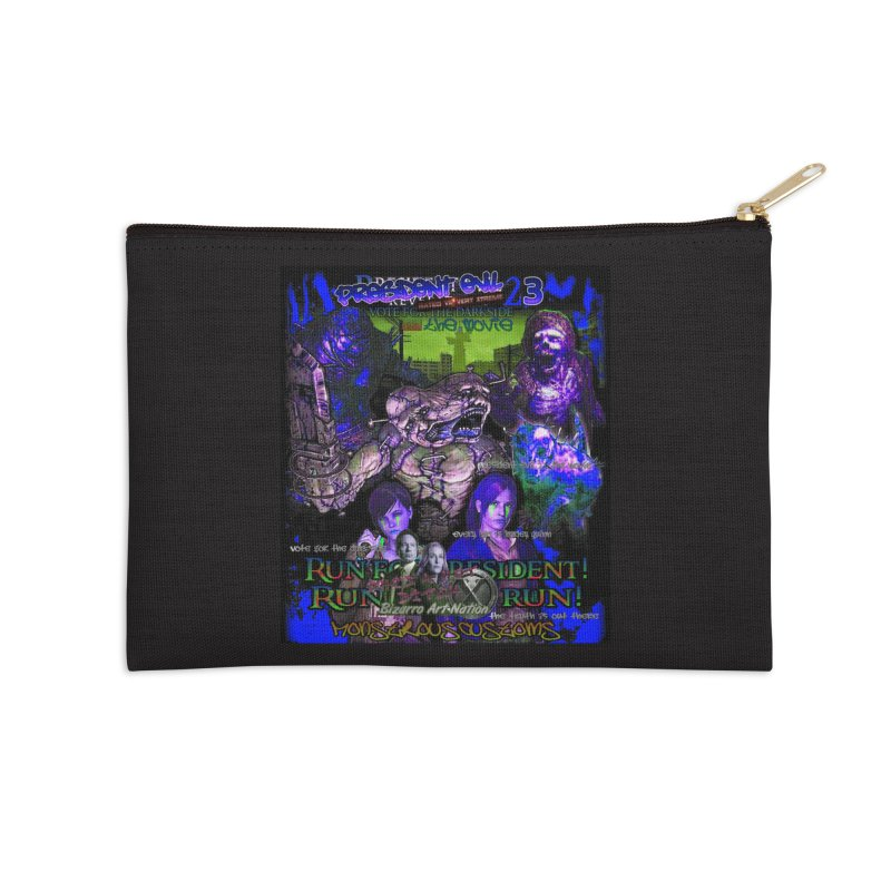 President Evil 23: Dark Night Accessories Zip Pouch by Monstrous Customs