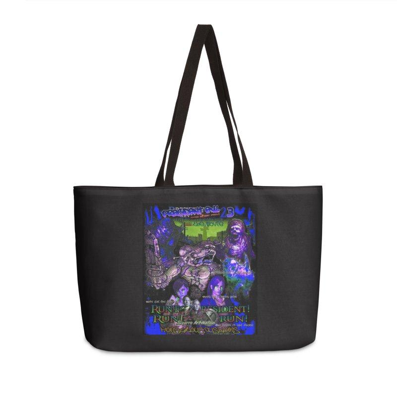 President Evil 23: Dark Night Accessories Weekender Bag Bag by Monstrous Customs
