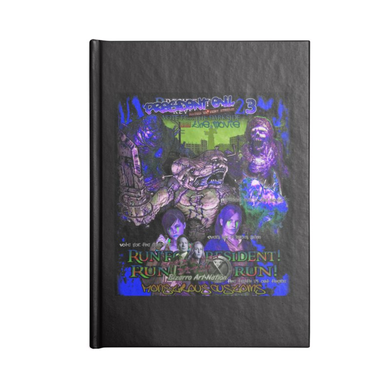 President Evil 23: Dark Night Accessories Lined Journal Notebook by Monstrous Customs