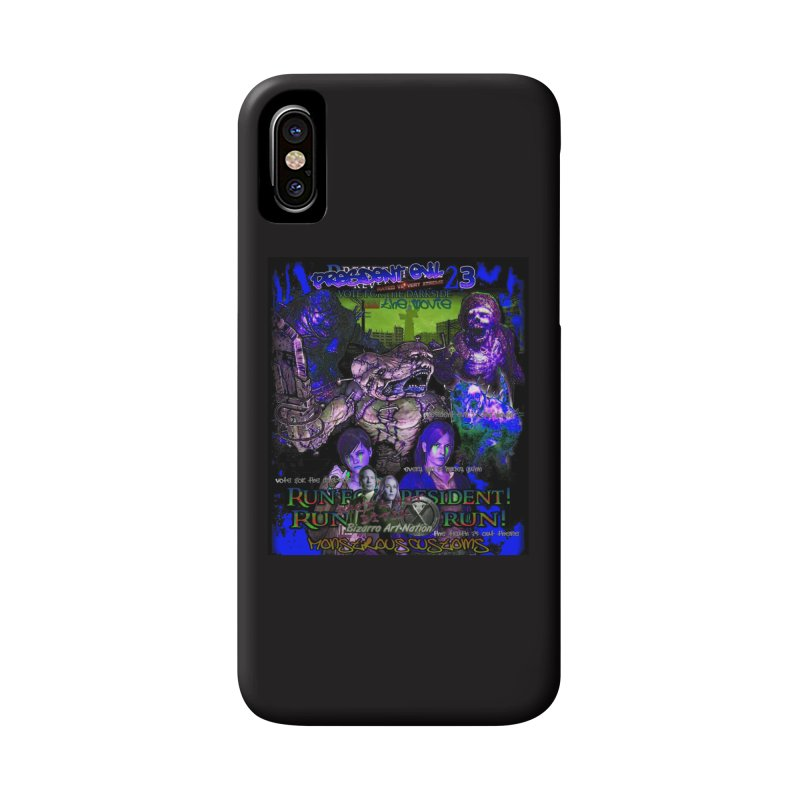 President Evil 23: Dark Night Accessories Phone Case by Monstrous Customs