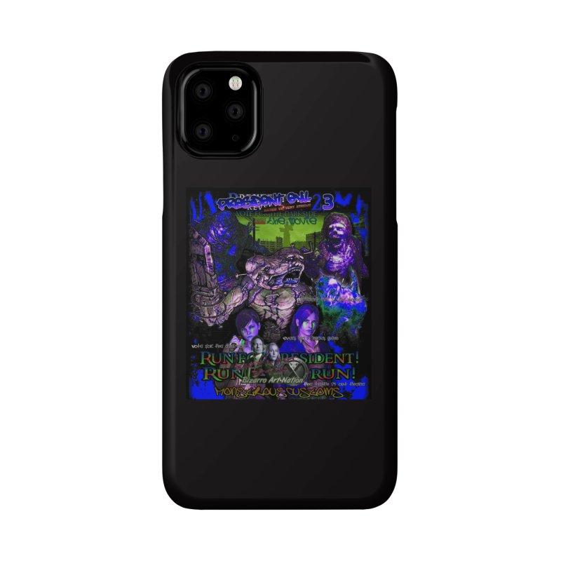 President Evil 23: Dark Night Accessories Phone Case by Monstrous Customs