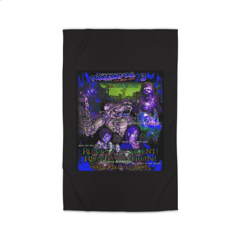 President Evil 23: Dark Night Home Rug by Monstrous Customs
