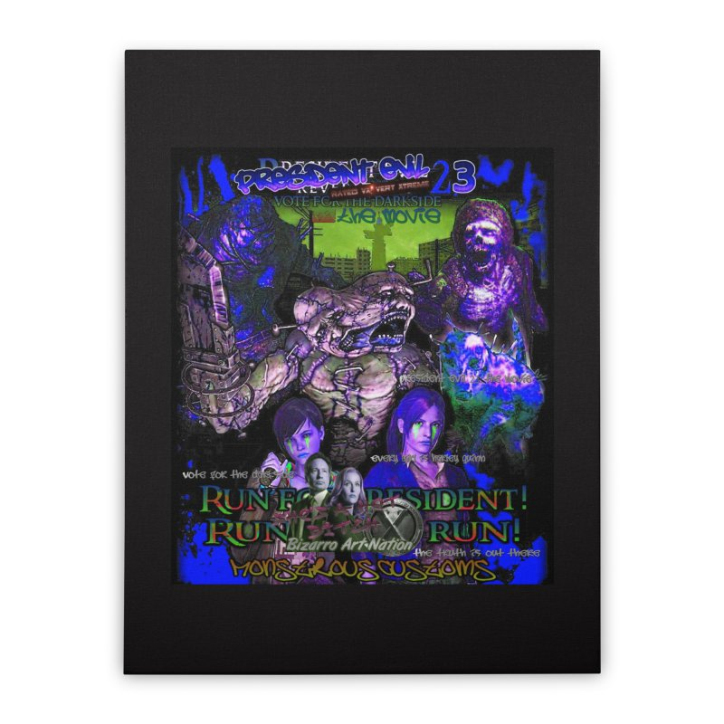 President Evil 23: Dark Night Home Stretched Canvas by Monstrous Customs