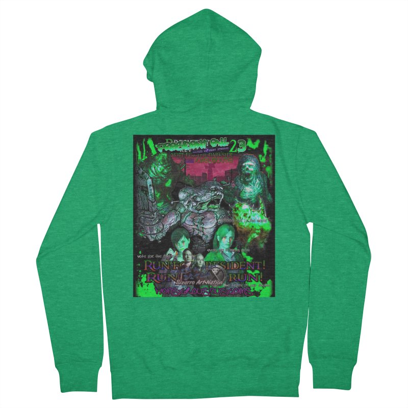 President Evil 23: Toxic Slime Men's Zip-Up Hoody by Monstrous Customs