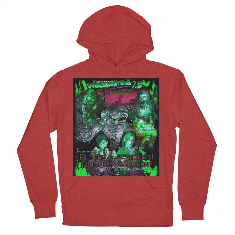 President Evil 23: Toxic Slime Women's French Terry Pullover Hoody by Monstrous Customs