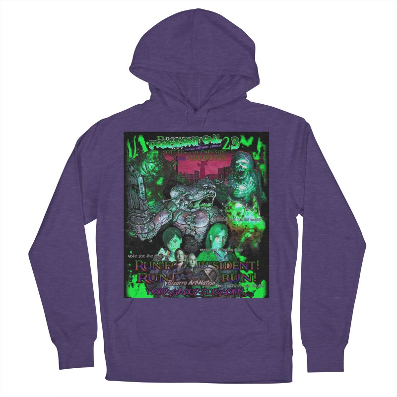 President Evil 23: Toxic Slime Men's French Terry Pullover Hoody by Monstrous Customs