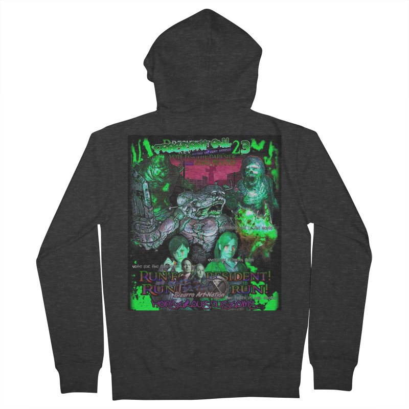 President Evil 23: Toxic Slime Women's Zip-Up Hoody by Monstrous Customs