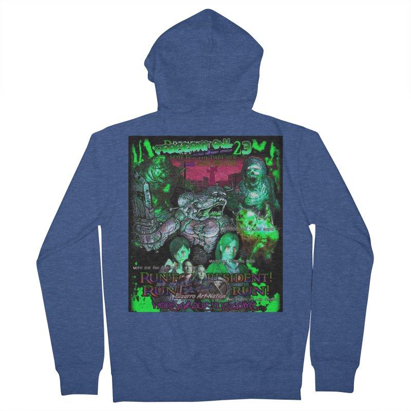 President Evil 23: Toxic Slime Men's Zip-Up Hoody by Monstrous Customs