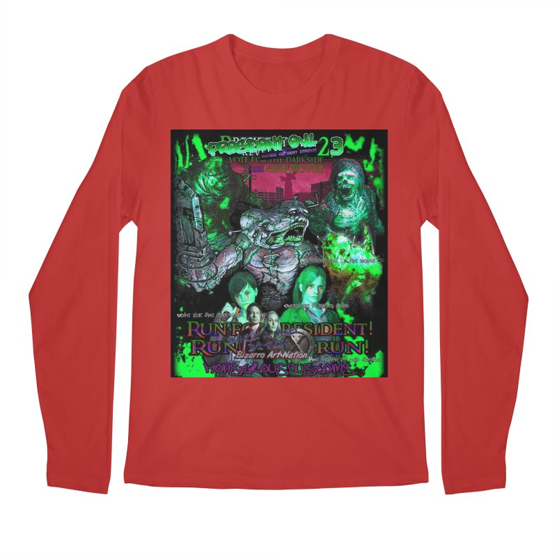 President Evil 23: Toxic Slime Men's Longsleeve T-Shirt by Monstrous Customs