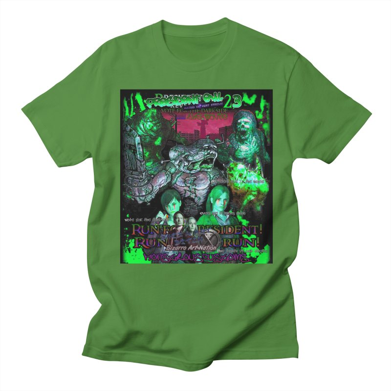 President Evil 23: Toxic Slime Men's Regular T-Shirt by Monstrous Customs