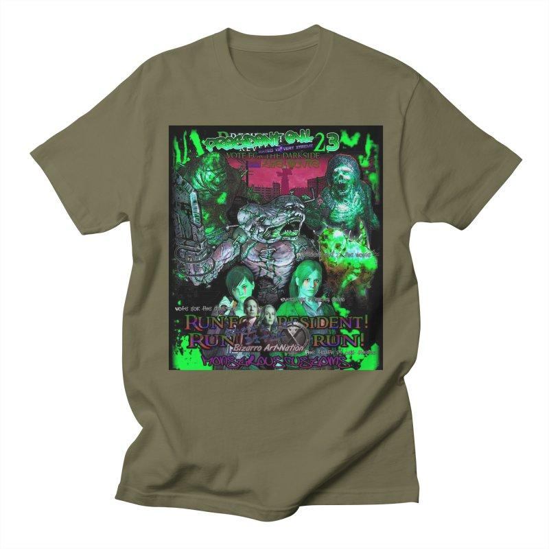 President Evil 23: Toxic Slime Men's Regular T-Shirt by Monstrous Customs