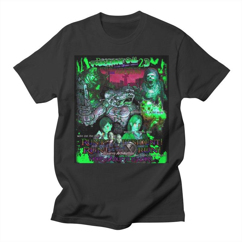 President Evil 23: Toxic Slime Men's T-shirt by Monstrous Customs