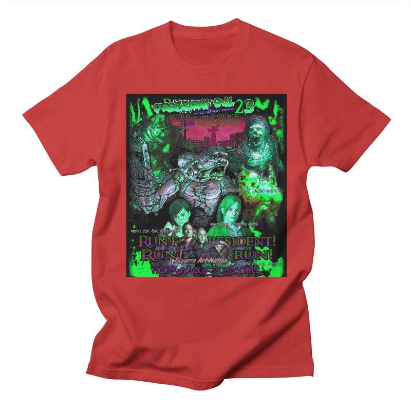 President Evil 23: Toxic Slime Women's Regular Unisex T-Shirt by Monstrous Customs