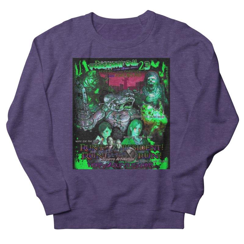 President Evil 23: Toxic Slime Women's Sweatshirt by Monstrous Customs