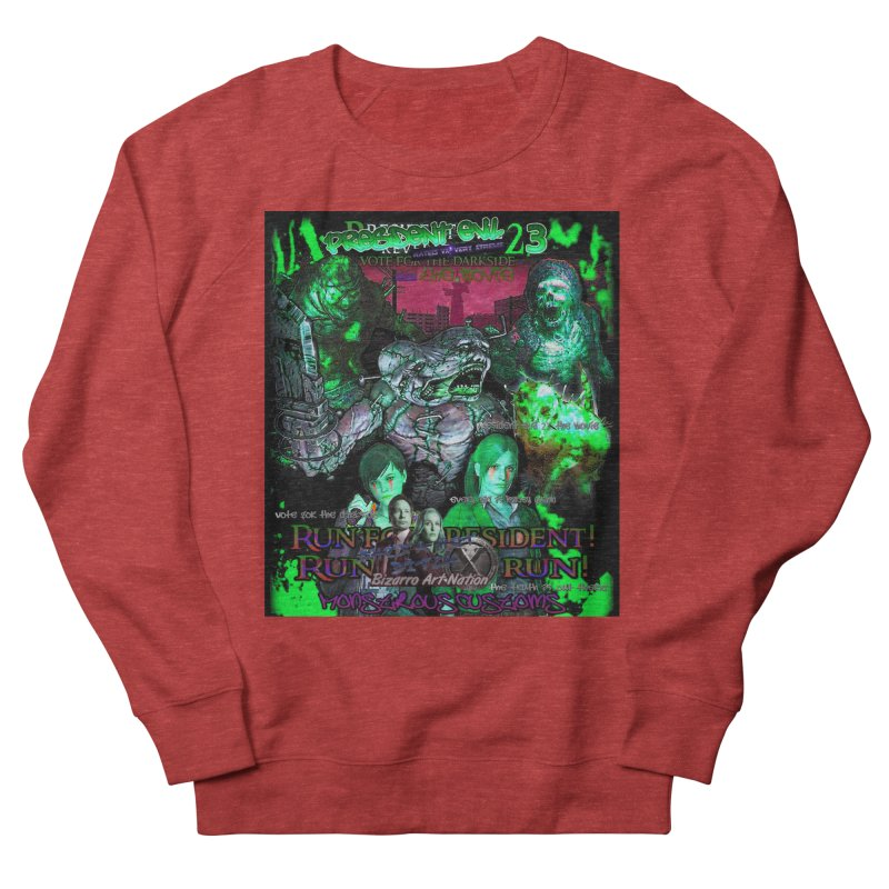 President Evil 23: Toxic Slime Men's French Terry Sweatshirt by Monstrous Customs