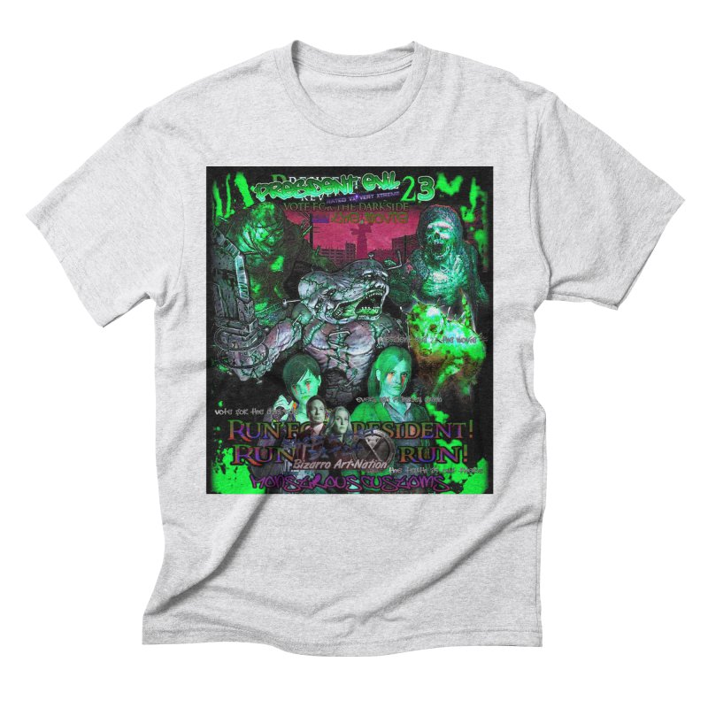 President Evil 23: Toxic Slime Men's Triblend T-Shirt by Monstrous Customs