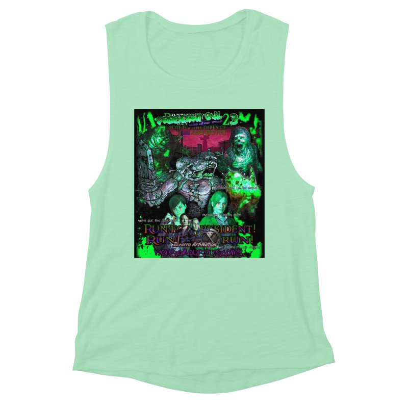 President Evil 23: Toxic Slime Women's Muscle Tank by Monstrous Customs