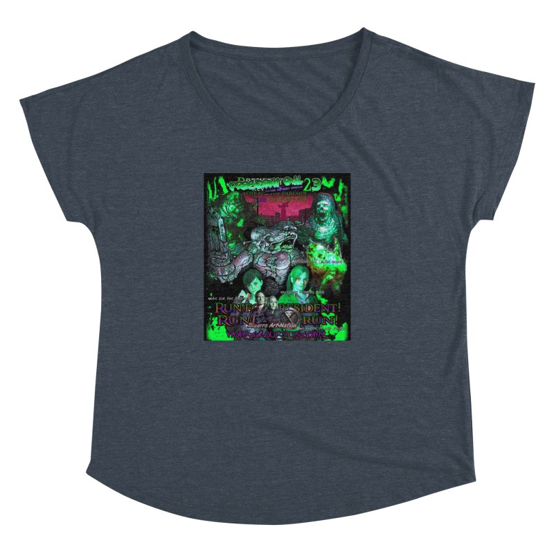 President Evil 23: Toxic Slime Women's Dolman by Monstrous Customs