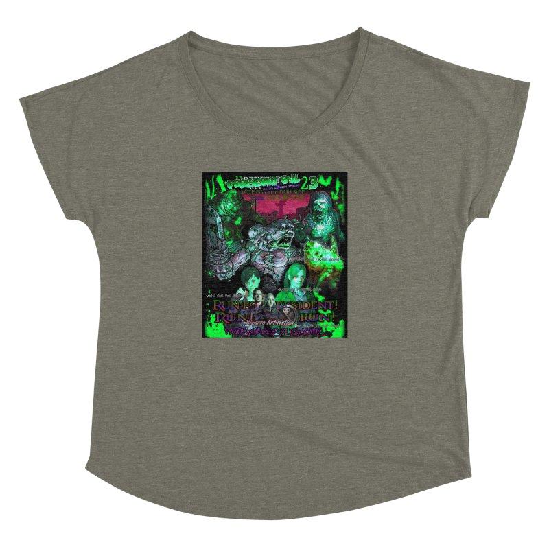 President Evil 23: Toxic Slime Women's Dolman by Monstrous Customs