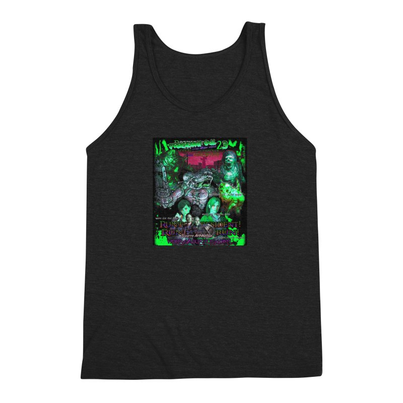 President Evil 23: Toxic Slime Men's Tank by Monstrous Customs
