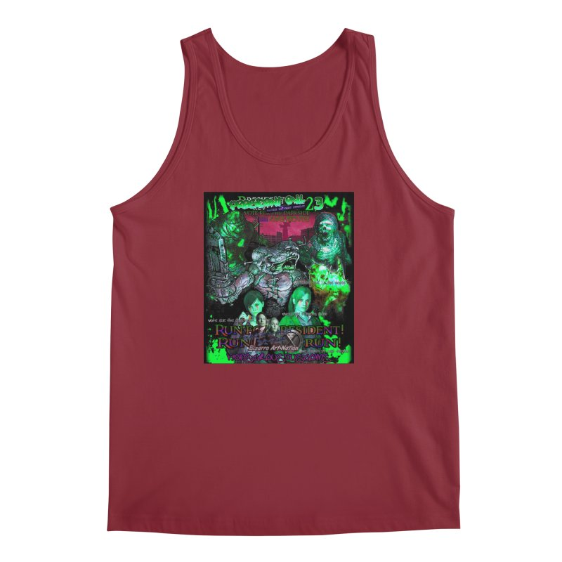 President Evil 23: Toxic Slime Men's Regular Tank by Monstrous Customs
