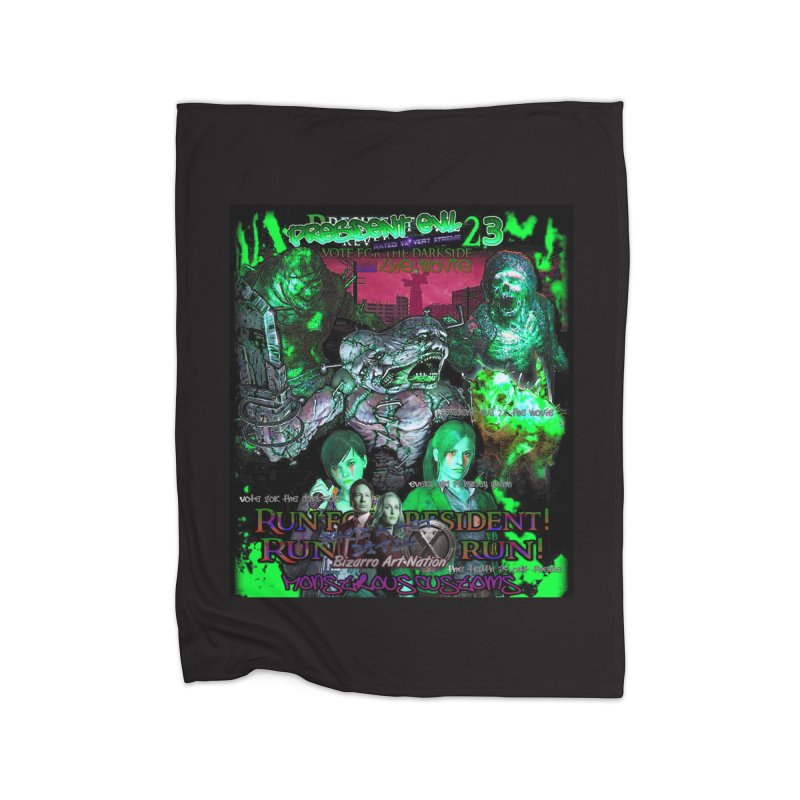 President Evil 23: Toxic Slime Home Blanket by Monstrous Customs