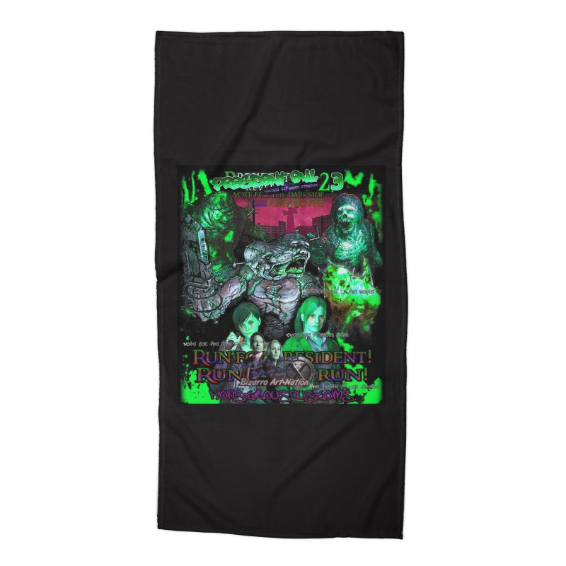 President Evil 23: Toxic Slime Accessories Beach Towel by Monstrous Customs