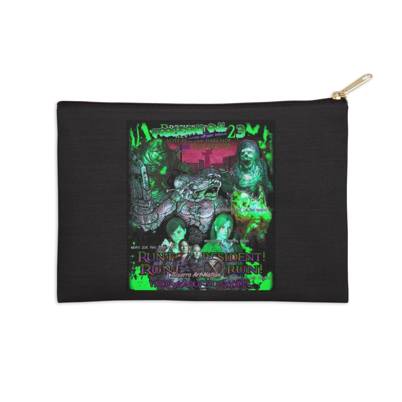 President Evil 23: Toxic Slime Accessories Zip Pouch by Monstrous Customs