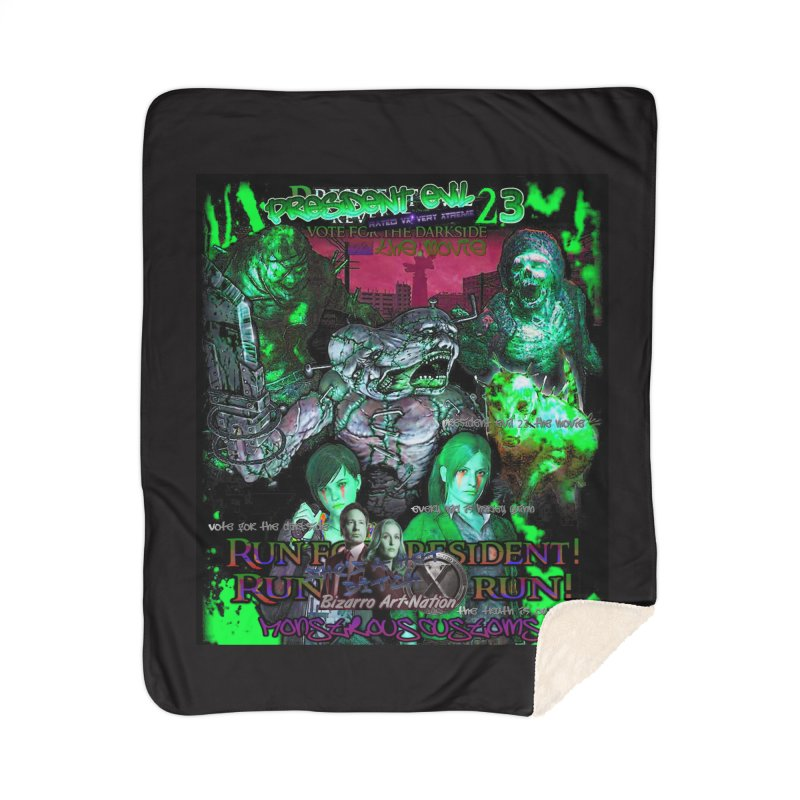 President Evil 23: Toxic Slime Home Sherpa Blanket Blanket by Monstrous Customs
