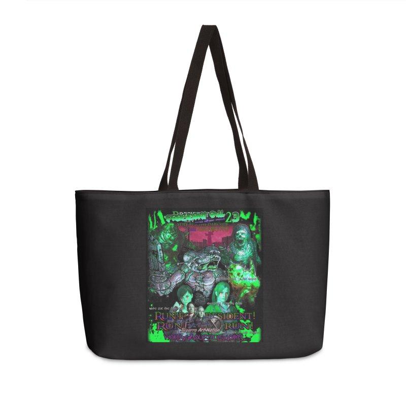 President Evil 23: Toxic Slime Accessories Weekender Bag Bag by Monstrous Customs