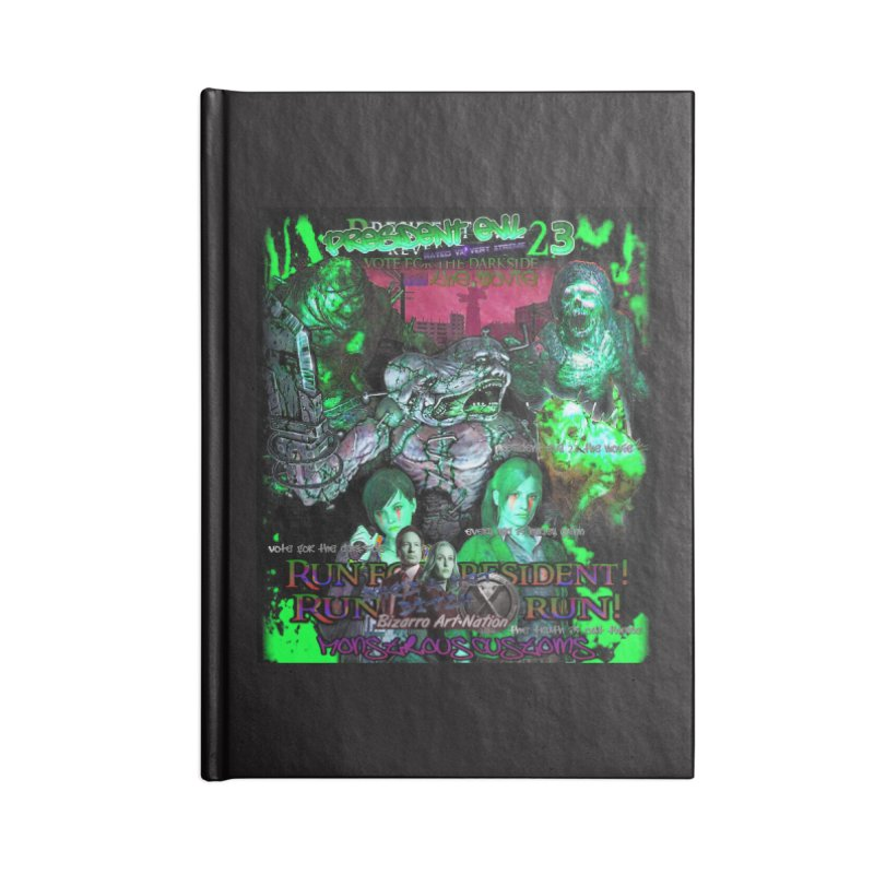 President Evil 23: Toxic Slime Accessories Lined Journal Notebook by Monstrous Customs